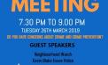 Aveley and Kenningtons Community Forum Meeting