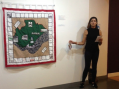 Artist discusses her Grays map project