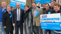 Thurrock Council leader and cllr David Van Day reflect on Aveley by-election victory
