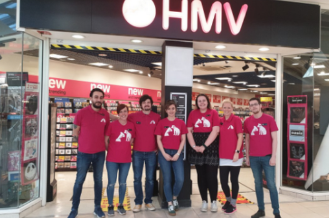 HMV'S store at intu Lakeside has re-opened.
