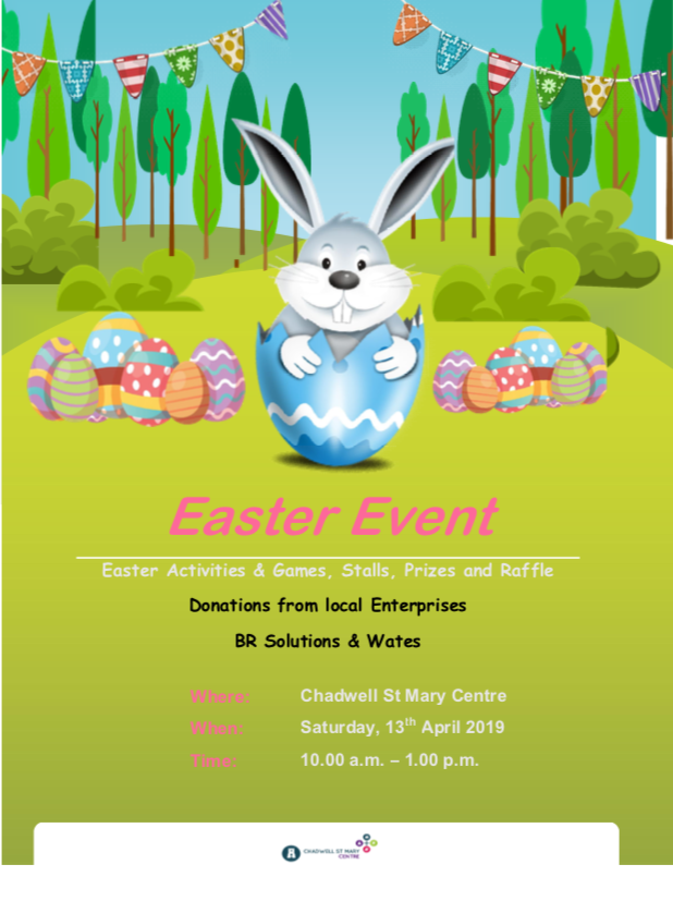 Easter events in Chadwell St Mary