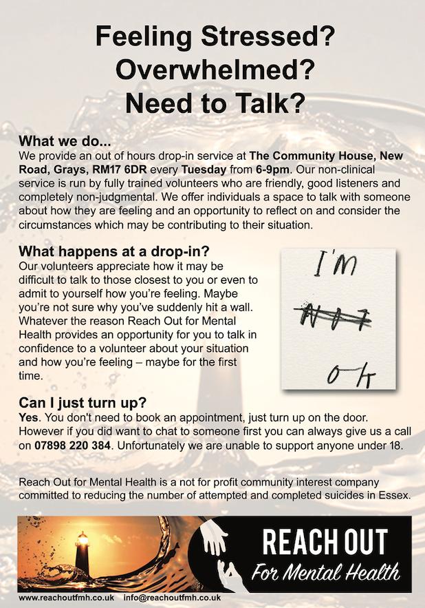 Feeling stressed, need to talk?