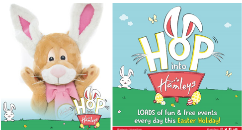 Cracking entertainment at Hamleys this Easter