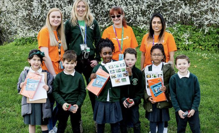 Amazon lays the groundwork for Thurrock schoolchildren