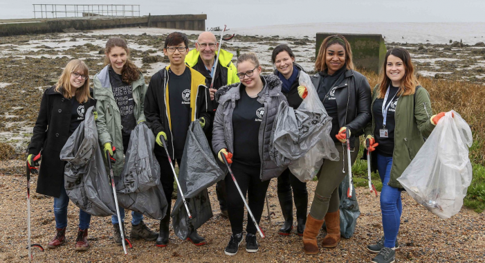 Thurrock teens pick a great cause for Action Day