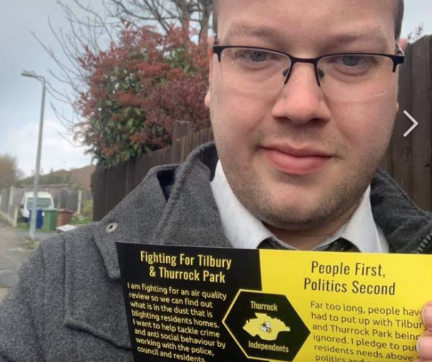 Thurrock Independent candidate secures testing for Tilbury dust