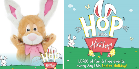 Hamleys Lakeside  a cracking destination to take kids for fun and entertainment this Easter.