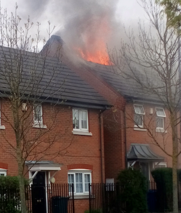 Fire sweeps through two homes after BBQ in Chafford Hundred