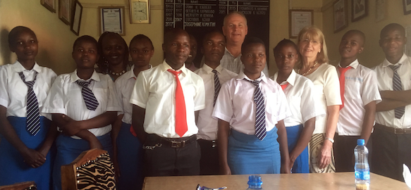 South Essex College coach's trip brings hope to Kenyan students