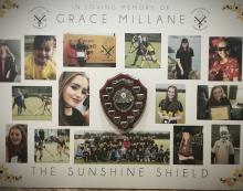 Thurrock Hockey Club introduce Sunshine Shield in memory of Grace Millane