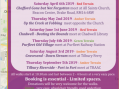 Guided walks in Chadwell St Mary