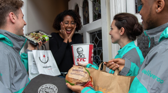 Deliveroo is giving away a lifetime's worth of free takeaway to one lucky winner
