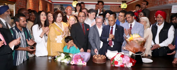 Councillor hosts Eid and Queen's Birthday celebrations