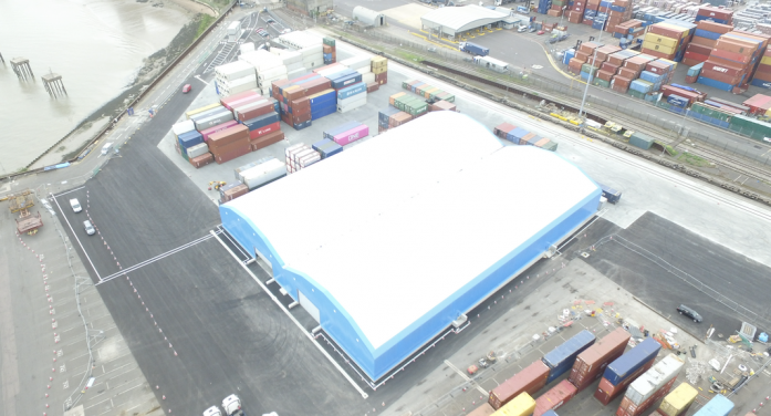 Maritime opens new multimodal facility at The Port of Tilbury