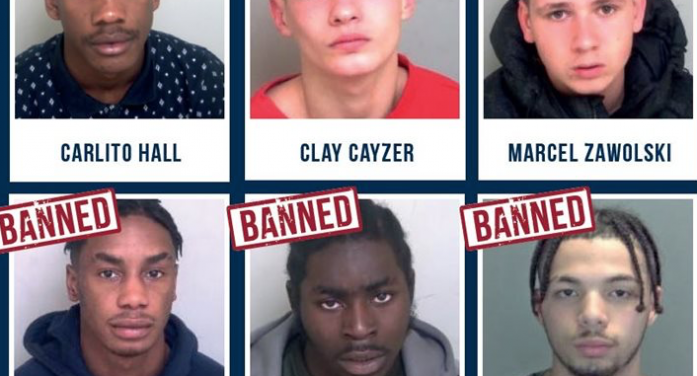 Three more Thurrock gang members subject to tough injunction