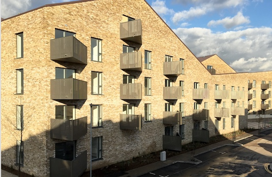 Pride in innovative housing project on Seabrooke Rise in Grays