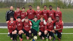 South Essex College football team take home the cup