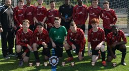 South Essex College football team do the double