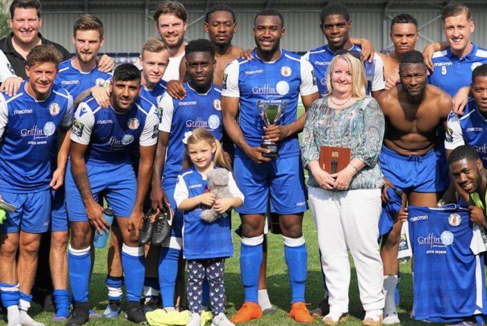 Football: Grays Ath beat Tilbury in Stan Veness Trophy