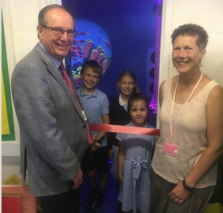 Stanford-le-Hope Primary opens sensory room