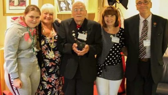 Mayor of Thurrock hosts reception for veteran Chadwell St Mary fundraiser Stanley