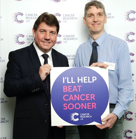 MP Stephen Metcalfe pledges support to beat cancer