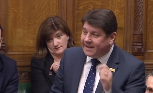 MP Metcalfe quizzes government on Libya