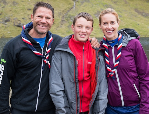 Thurrock Scout explores Lake District with Olympic champion and outdoors man