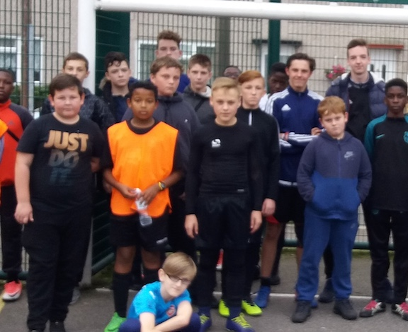 Street Football tournament is a hit in Tilbury