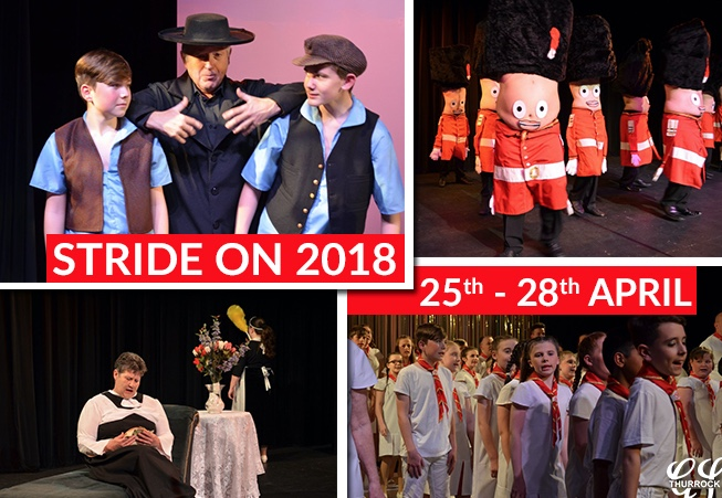 Stride On 2018 is coming to the Thameside Theatre