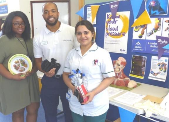Basildon Hospital focus on stroke prevention