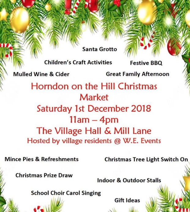 Popular Christmas Fayre set to return to Horndon-on-the-Hill