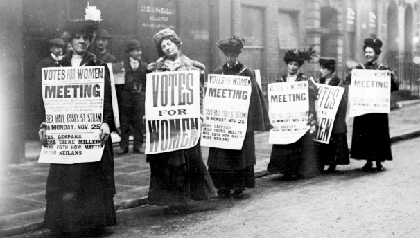 Suffragettes exhibition at Thameside Complex