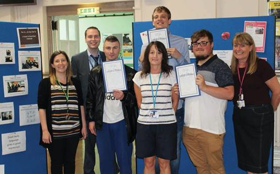Thurrock Adult Community College and Thurrock Lifestyle Solutions celebrate Internship Programme