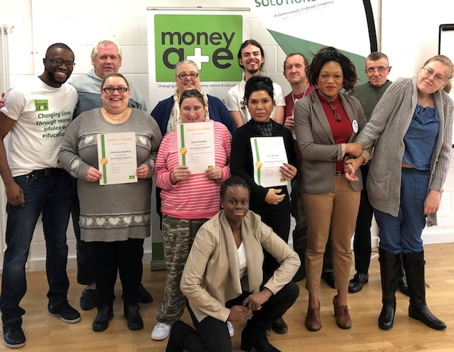 Thurrock Lifestyle Solutions students graduate in Money Advice course