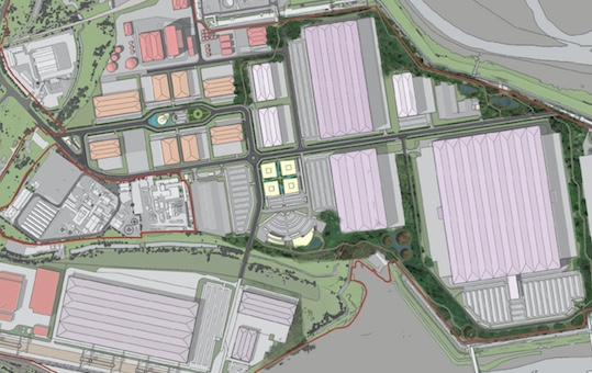 Planning bid for old Coryton Oil Refinery site could see up to 4,500 jobs created