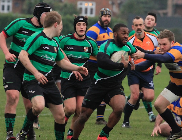Rugby: Thames get their kicks with Route 66