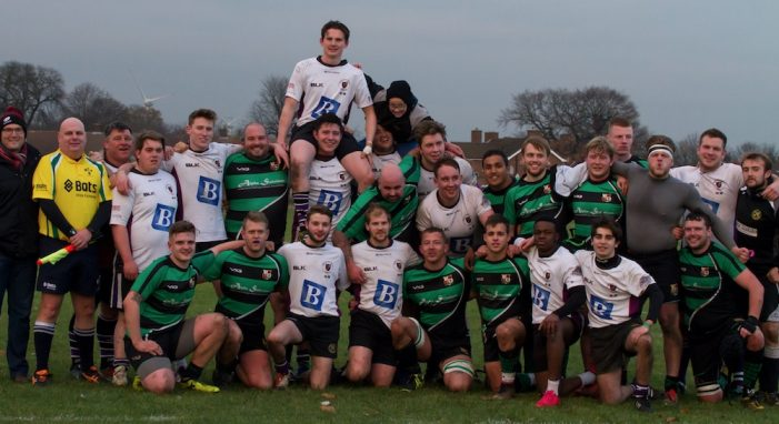 Rugby: Big hearts from Thames and Romford