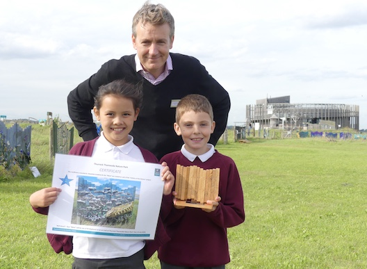 Woodside Academy wins design prize in Artistry of the Estuary competition