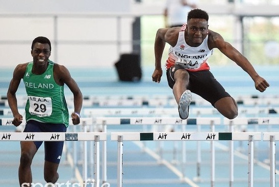 Athletics: Four Harriers compete at English Schools Champs