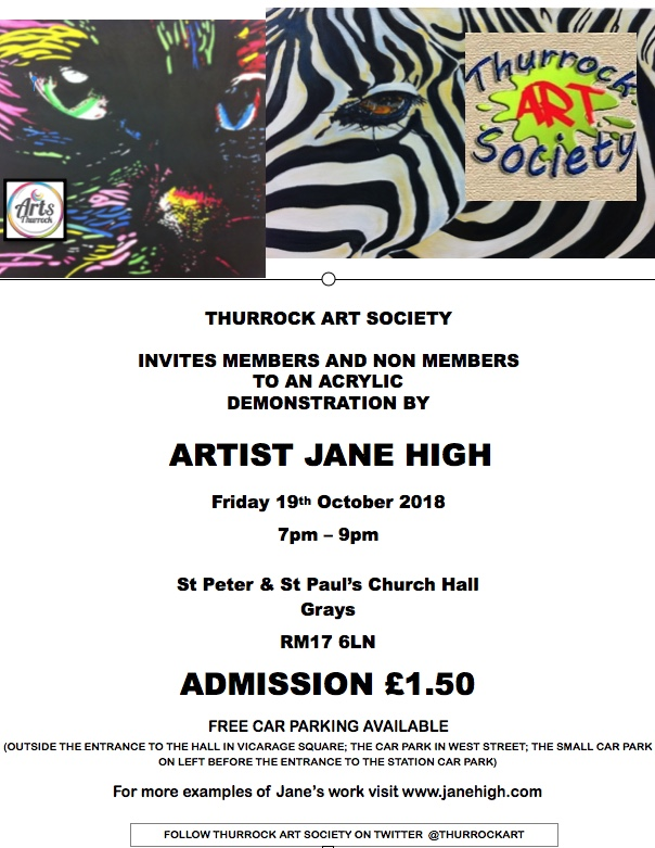 Thurrock artist set to host exhibition