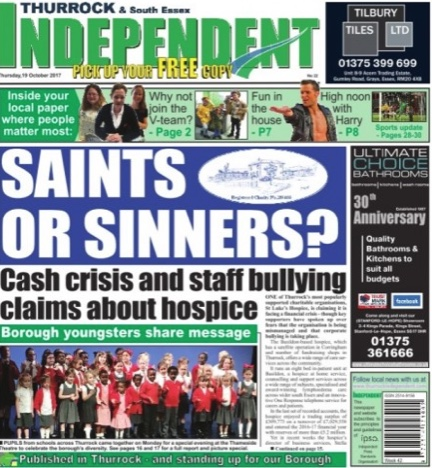 Thurrock Independent newspaper closes