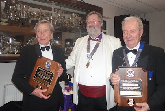 Thurrock Lions receives highest award at annual dinner