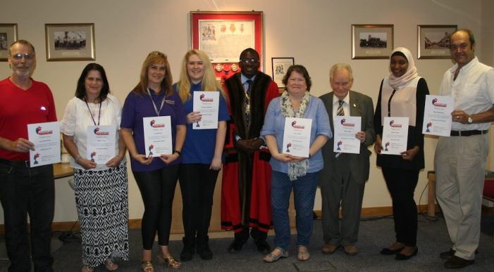 Thurrock volunteers recognised at special ceremony