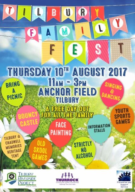 Tilbury Summer Fete coming in August