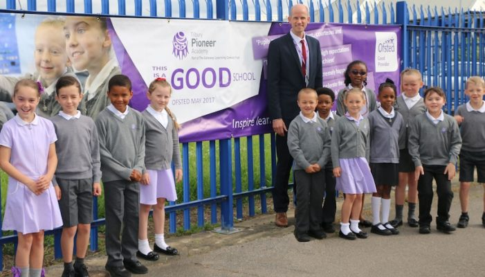 Tilbury Pioneer Academy receives high praise from Ofsted