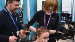 Brave South Essex College student has hair shaved for charity