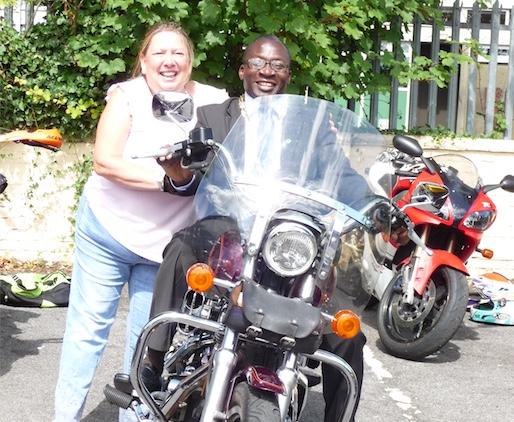 Charity motorbike run from Aveley raises over £1500
