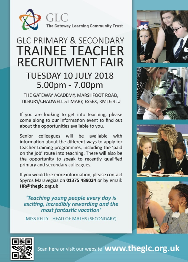 Gateway Learning Community host Teacher Training Recruitment Event