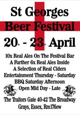 St George's Beer Festival at the Traitor's Gate